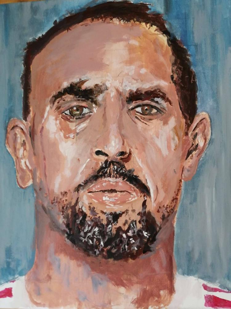 Franck Ribéry by bumboart